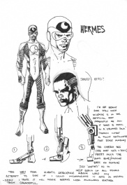 Barry Kitson The Order charactersheet 10