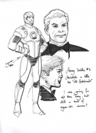 Barry Kitson The Order charactersheet 9