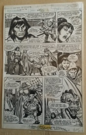 Planche originale 21 de Savage Sword Of Conan 66