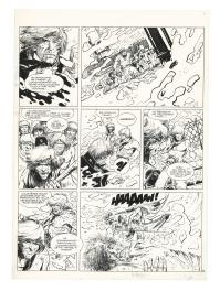 Bruce J. Hawker, Press Gang, planche originale 33 Comic Art