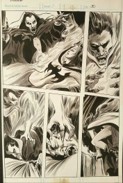 Dracula vs Lilith by Colan