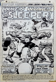 Captain America - issue 101 - title page