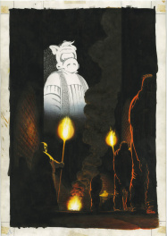 Cover for Cerebus 160