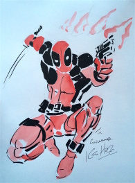 Deadpool par Kevin Hopgood