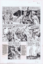 Vault of Horror #13 page by Harvey Kurtzman