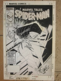 Marvel Tales #169 Cover (Spider-man),Steve Ditko