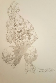 Ghostbusters movie sketch by Bernie Wrightson