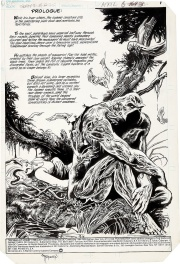 Swamp Thing #35 page 1 Bissette/Totleben