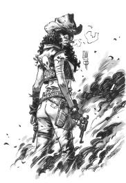 Cigarillo Comic Art