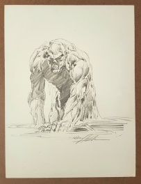 Swamp Thing by Neal Adams