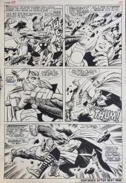 Planche originale - Thor 137- Jack Kirby and Vince Colletta