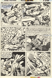 Planche originale - Black Panther-Issue 3-PL 10
