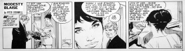 Modesty Blaise strip # 1468