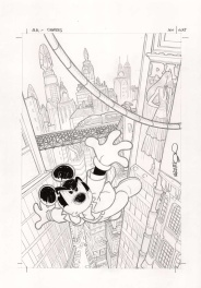 Mickey Mouse Mystery Magazine Omnibus #1 cover