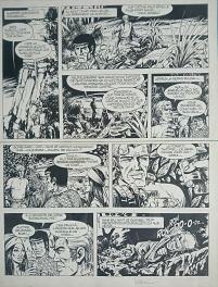 Bob MORANE-PANNE SECHE A SERADO Comic Art