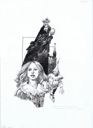 Biancaneve by Sergio Toppi