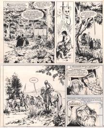 Ramiro Le batard planche18 Comic Art