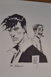 Dylan Dog Illustration