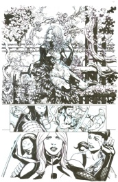 Jesus Saiz Birds of Prey # 2 pg. 20