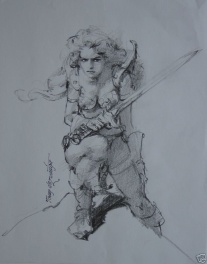 Tony Dezuniga Red Sonja