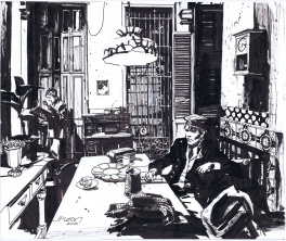 Corto Maltese in Havana by John Paul Leon