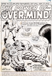 Fantastic Four 113 Title Splash- Buscema Sinnott