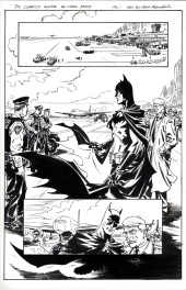 BATMAN complete 3 page story- SOLD
