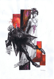 Tosca by Sergio Toppi