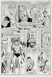 "Superman - ""A Night in the Life of Bruce (Superman) Wayne!"" #363 P2  (Batman)"