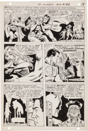 "Superman + Batman - World's Finest - ""The Bat Witch!"" #186 P16"