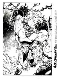 RESERVEE - Hulk Inventory Comic Art