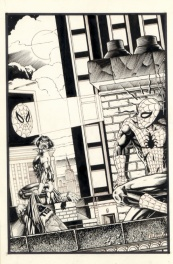 SPIDER-MAN vs MORBIUS THE LIVING VAMPIRE.
