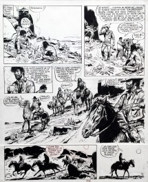 Comic Strip - Jerry Spring - La Fille du Canyon