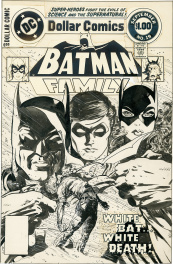 Couverture originale de Batman Family #19 - Septembre 1978.