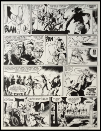 Comic Strip - 2015 - L'homme qui tua Lucky Luke - Planche 50
