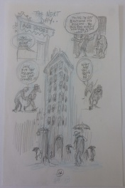 New York, pencil p14