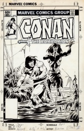 Conan the Barbarian # 149 unpublished cover