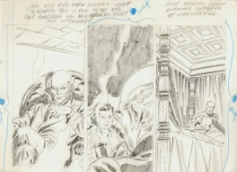 Silver Surfer # 12 unpublished pencils second part