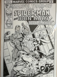 Marvel team up 72: spider-man and iron man