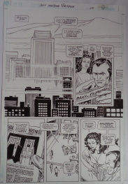 Hollywood skyline -Just Imagine Batman p24