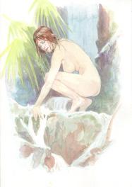 Vink - Femme nature Comic Art