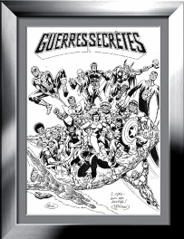 Jean-Yves Mitton: Guerres secrètes Re-cover Spidey 66