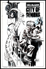 Hellblazer City Of Demons #5 Cover