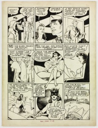 Speed Comics # 34 Black Cat