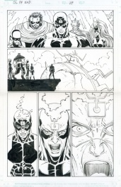 The Last Fantastic Four Story - Black Bolt Medusa Gorgon Karnak Triton