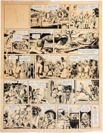 Spanish Circus-Themed Comic Strip  (Sindicato Dante Quinterno, 1946)