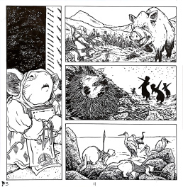 Mouse Guard - Black Axe #3 Page 11