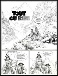 Comic Strip - Bruce J. Hawker : 5. Tout ou rien