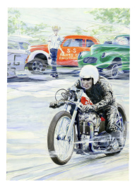 Denis Sire - Nira Johnson Drag Triumph