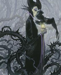 Maleficent Comic Art